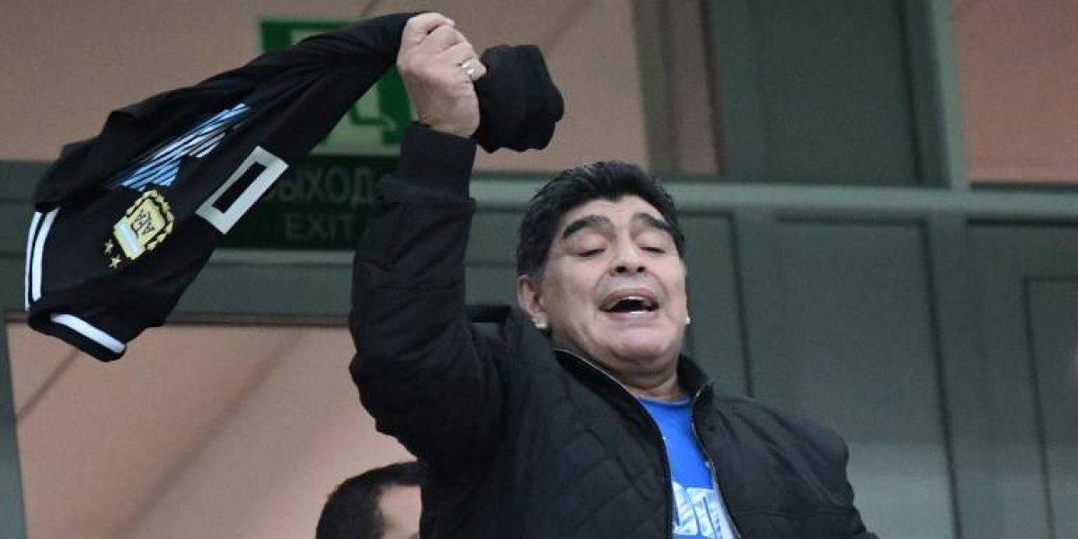 """VIDEO. """"Si no hubo piñas en el vestuario es porque no tenemos huevos"""", dice Maradona"""