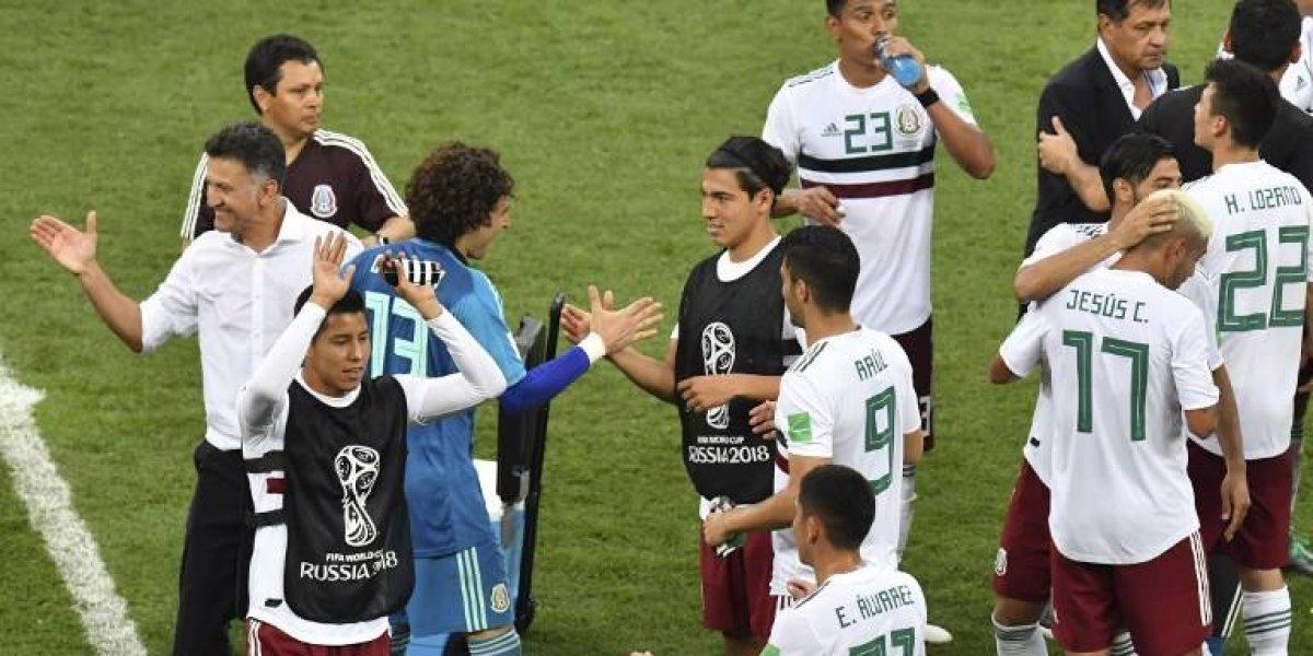 Presidente Peña Nieto felicita a la selección de México tras triunfo ante Corea