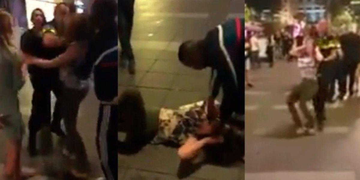 VIDEO. Policía da brutal golpiza a una mujer y causa indignación en el Mundial