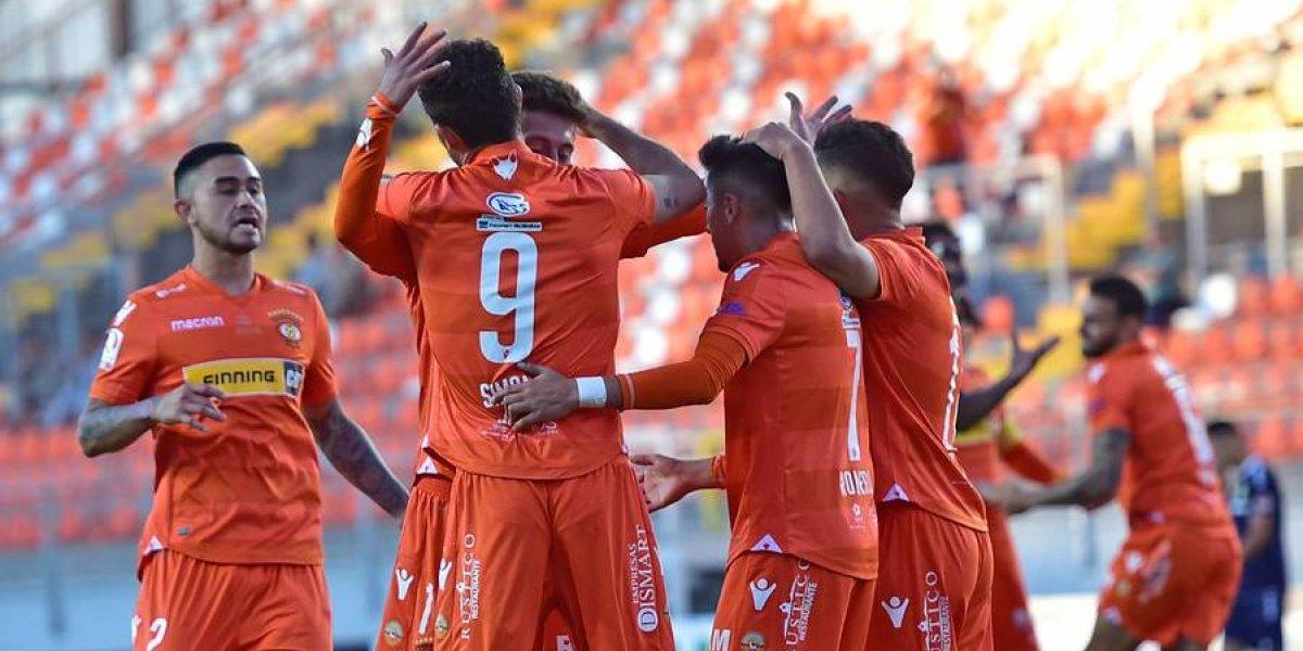 El Cobreloa de Kalule Meléndez se dio un festín de goles ante San Marcos en Copa Chile