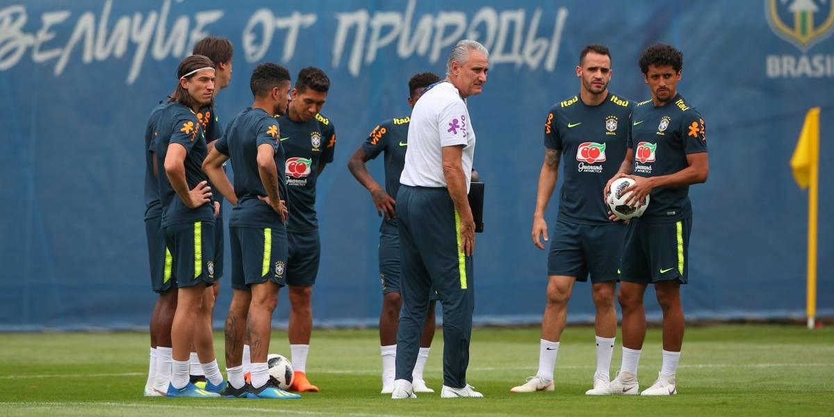 Com titulares poupados, Seleção faz treino leve após vitória sobre a Costa Rica