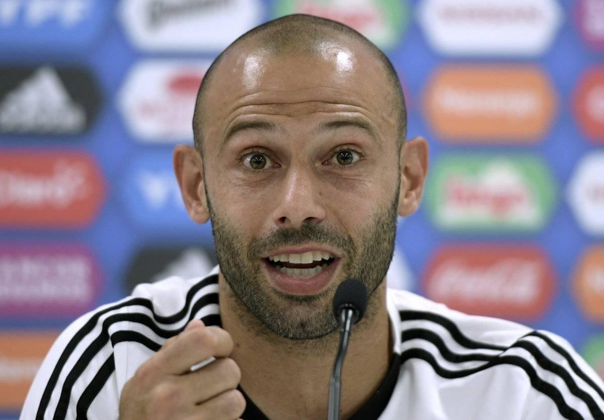 Mascherano dijo que no hay problemas en el camerino argentino
