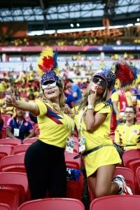 aficionadas de Colombia