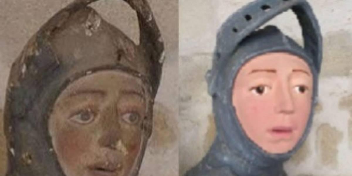 San Jorge, el nuevo 'Ecce Homo' que indigna a España