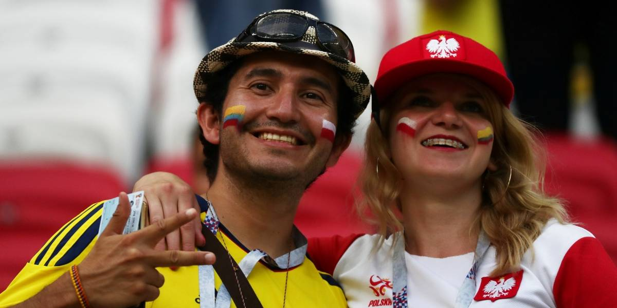AO VIVO: Colômbia marca de novo contra Polônia; 3 a 0