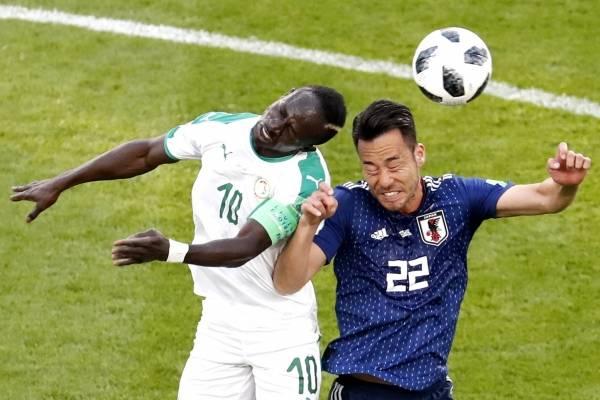Video de los goles de Japón VS Senegal