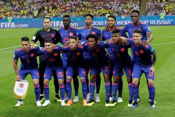Formación titular de Colombia vs Senegal Mundial Rusia 2018
