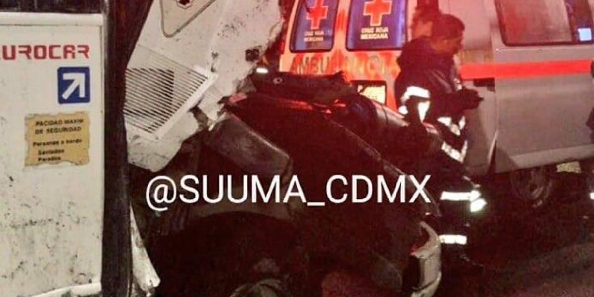 Accidente en la México-Toluca deja 25 personas lesionadas