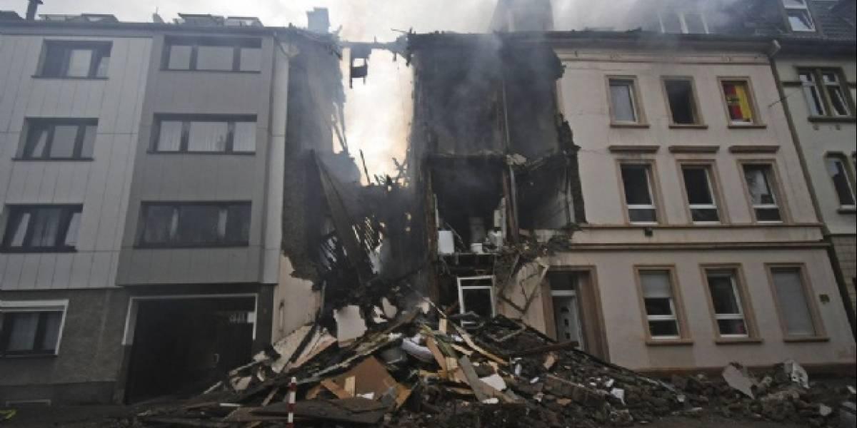 Hay 25 heridos en Alemania tras explosión en edificio de departamentos