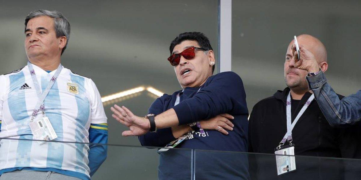 Maradona desea reunirse con los jugadores de la albiceleste