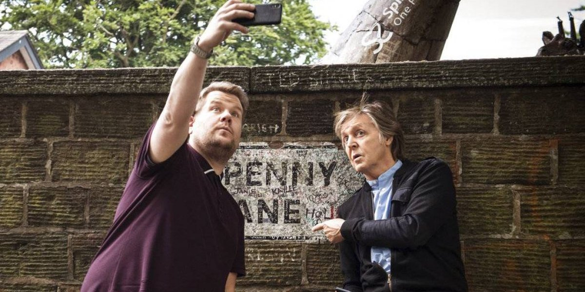 "Paul McCartney viaja al pasado con James Corden en ""Carpool Karaoke"""