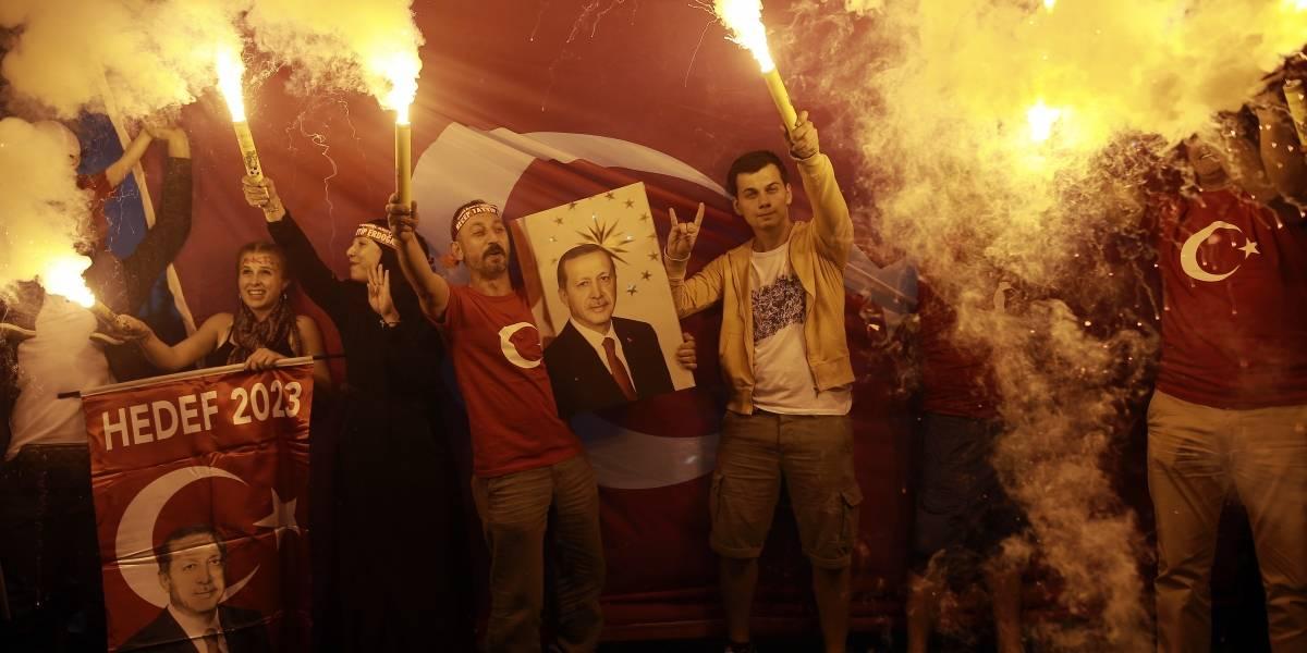 Erdogan se declara ganador de las elecciones presidenciales en Turquía con más del 50% de los votos