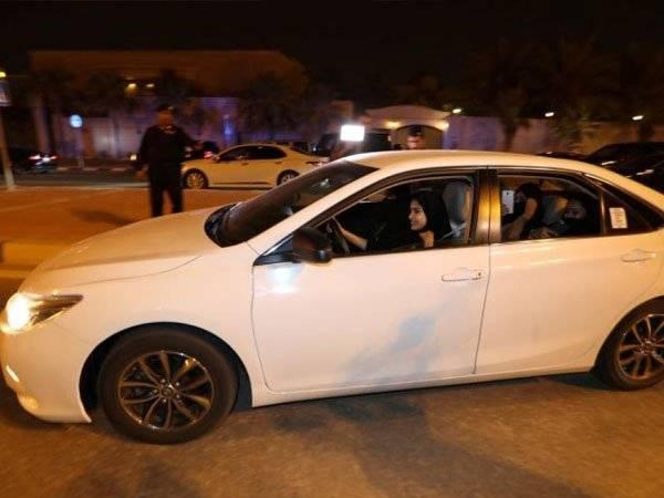 Arabia Saudita Mujeres vehiculos