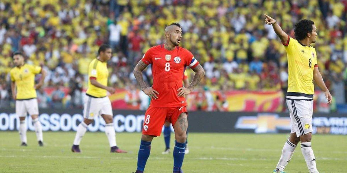 El mensaje de Arturo Vidal a James y a la Selección Colombia