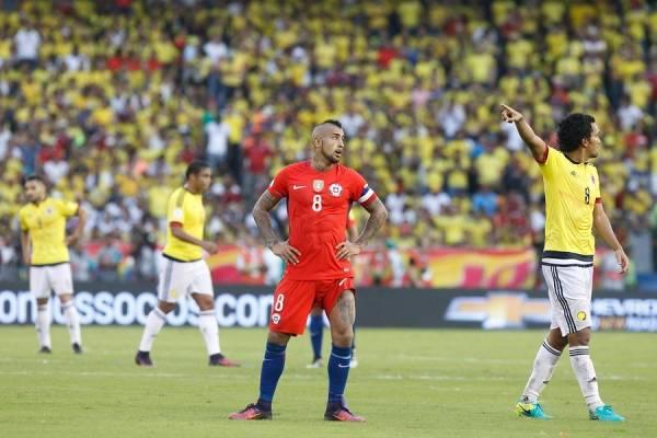 Arturo Vidal está con Colombia / Foto: Agencia UNO