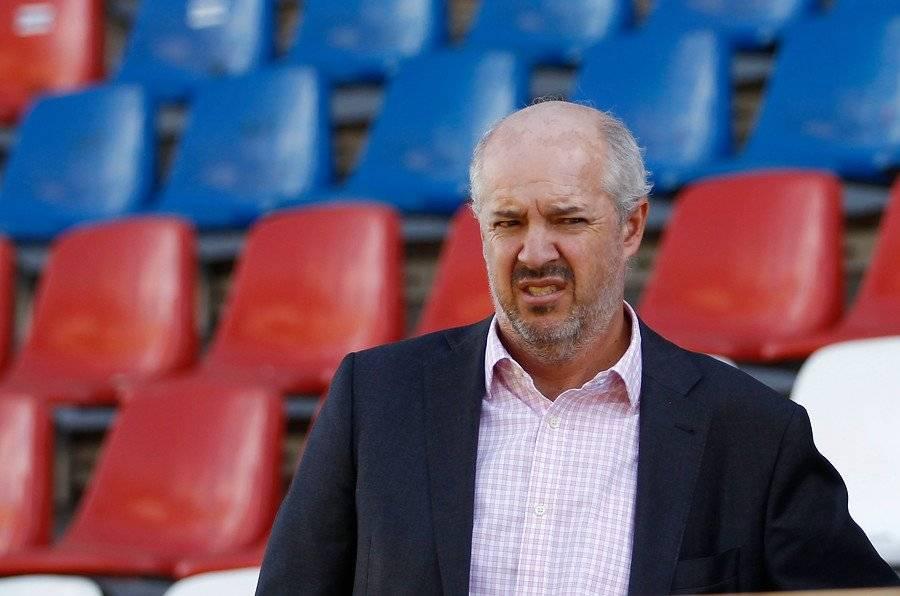 Juan Tagle, presidente de Cruzados / Foto: Agencia UNO