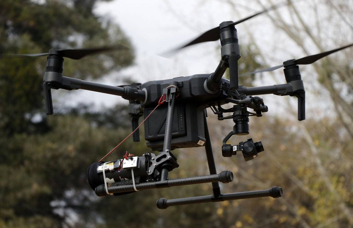Dron de Las Condes