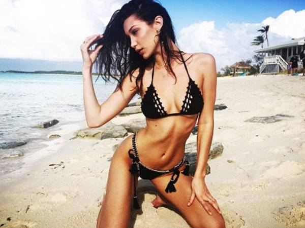 Bella Hadid Modelo Cuerpo