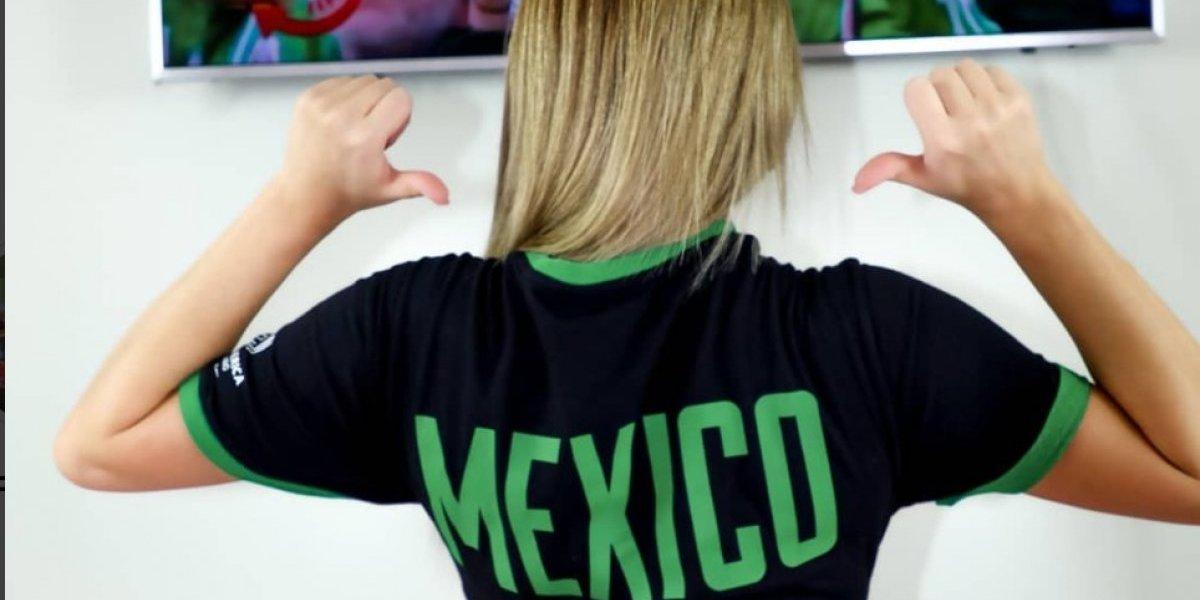 Conejita de Playboy declara ser la profetisa de la selección de México tras acertarle a los marcadores