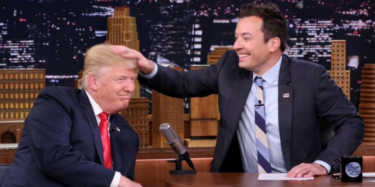 Jimmy Fallon es atacado por Trump