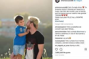 La romántica felicitación de Antonella para Messi por su cumpleaños