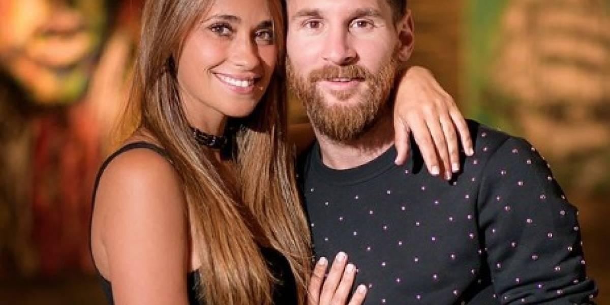 La romántica felicitación de Antonella Roccuzzo para Messi por su cumpleaños