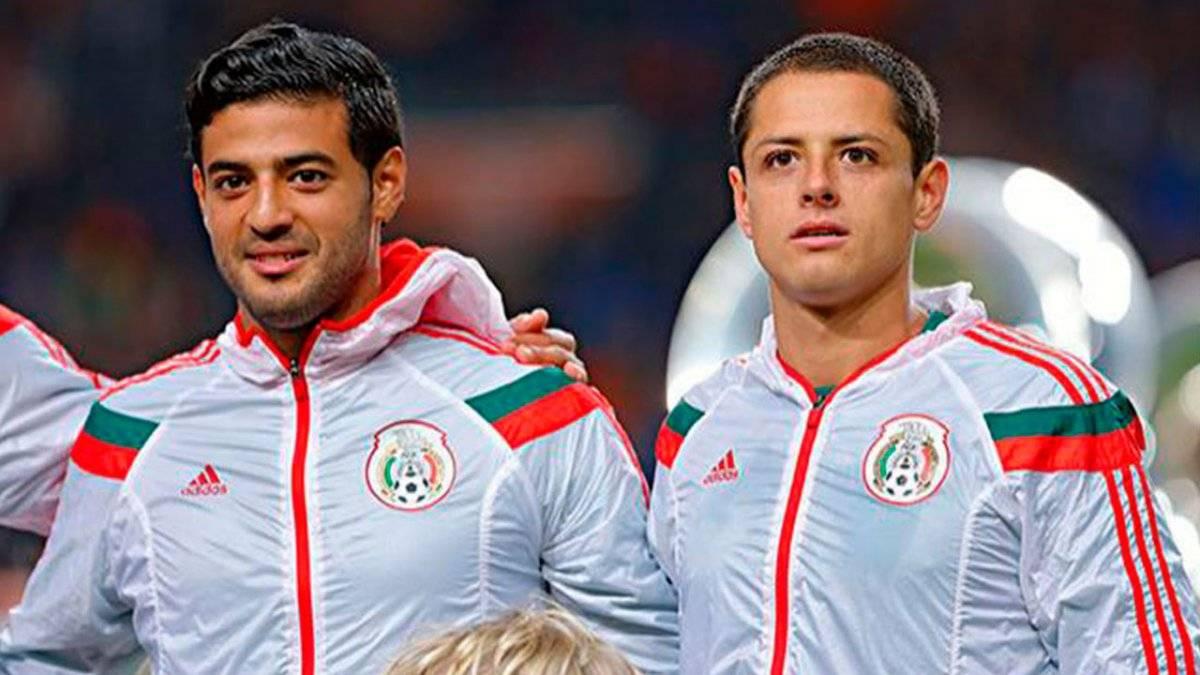 Carlos Vela y Chicharito