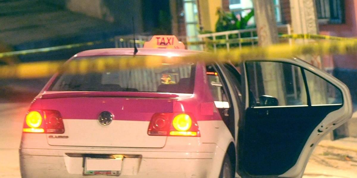 Asesinan a taxista por mojar a dos en la GAM