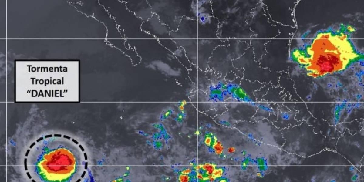 Se forma tormenta tropical Daniel en el Pacífico
