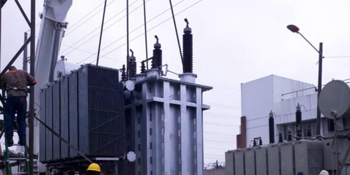 EDESUR informa instala transformador en subestación Matadero, DN