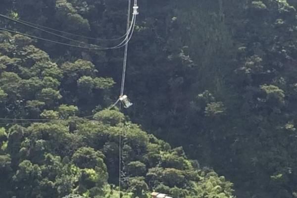 Cable aéreo