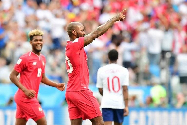 Baloy celebró con todo su anotación ante Inglaterra