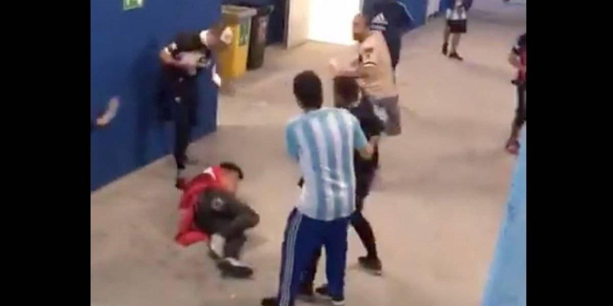 FIFA toma acciones contra Argentina y Croacia por violencia entre aficionados