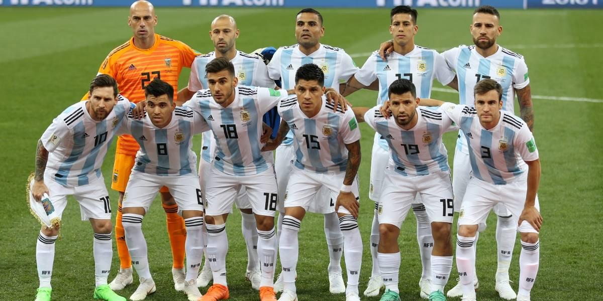 Se filtró posible formación de Argentina para el partido ante Nigeria
