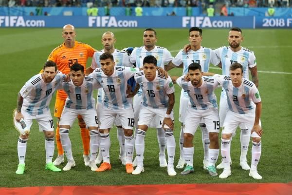 Posible formación de Argentina para el partido ante Nigeria