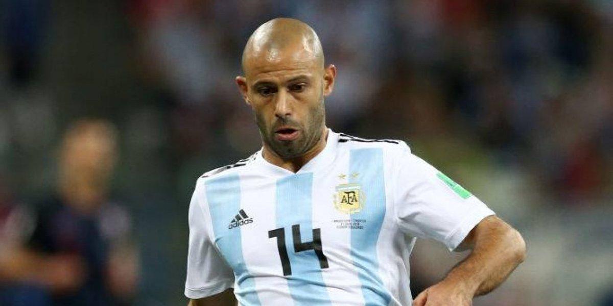 """Mascherano desmiente """"golpe de estado"""" a Sampaoli: """"Los mejores DT del mundo le piden opinión a los jugadores"""""""