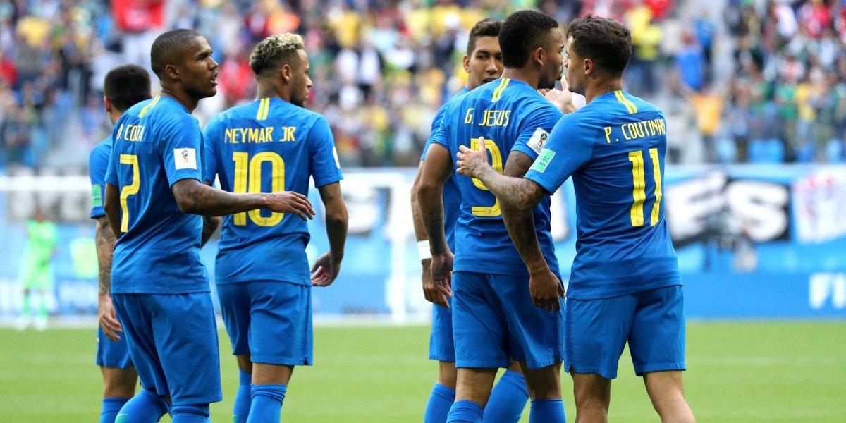 Brasil no contaría con dos jugadores para enfrentar a Serbia