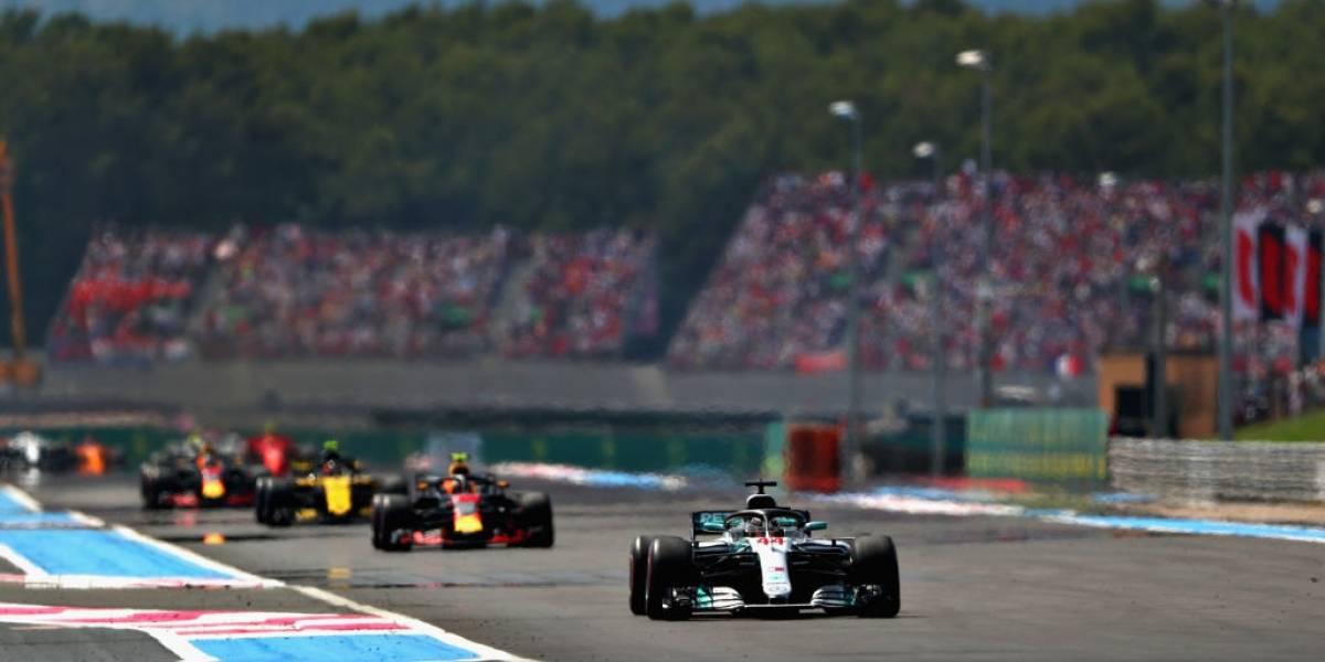 Paseo de Hamilton en Francia para volver a la punta del mundial de Fórmula Uno