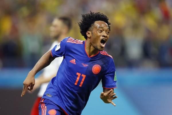 Video del gol de Juan Guillermo Cuadrado con Colombia