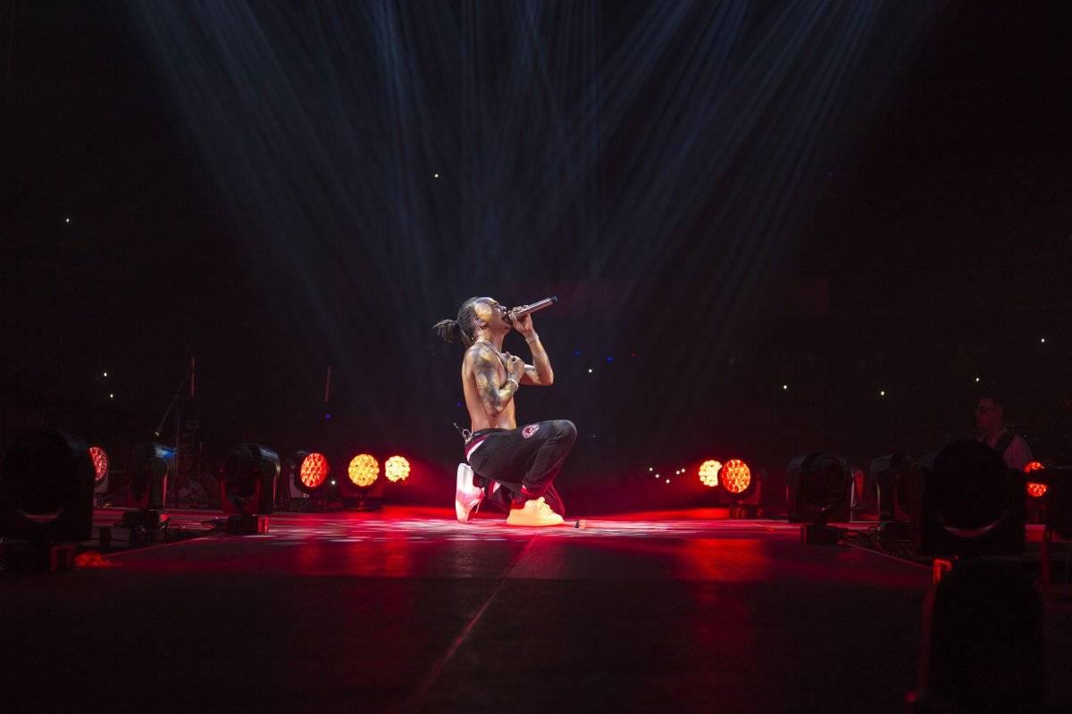 Ozuna durante su concierto en República Dominicana Suministrada