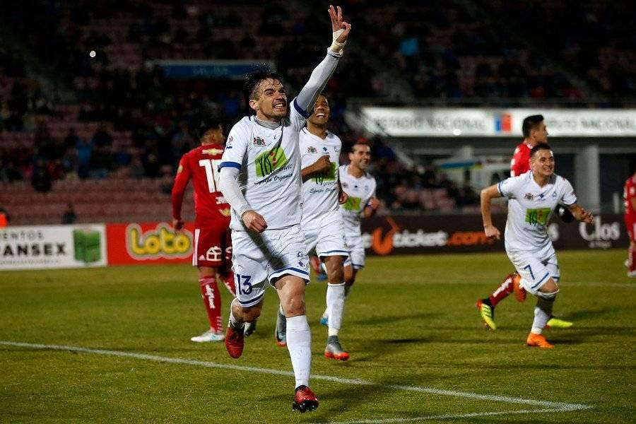 Sergio Catalán anotó el gol del empate parcial de Colchagua / Foto: Photosport