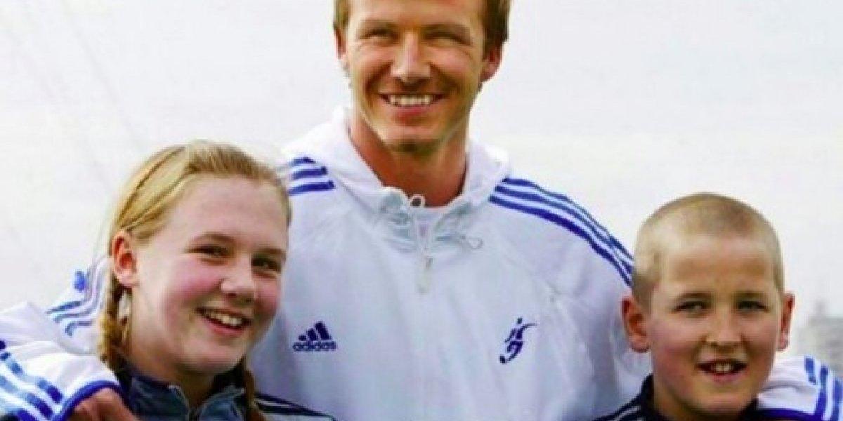 Increíble historia entre David Beckham y Harry Kane