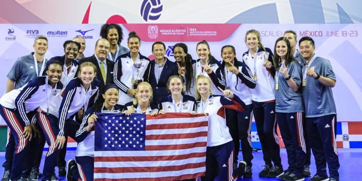 EEUU gana el título NORCECA Sub-20 y clasifica al Mundial FIVB