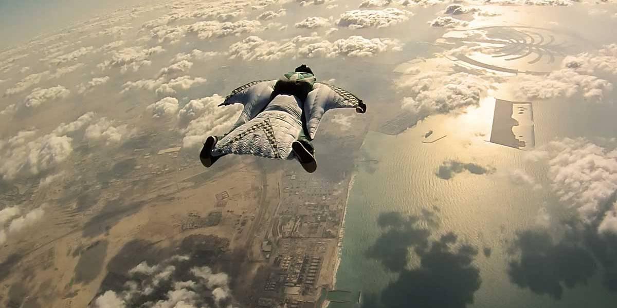 Turista morre ao saltar de wingsuit na Itália
