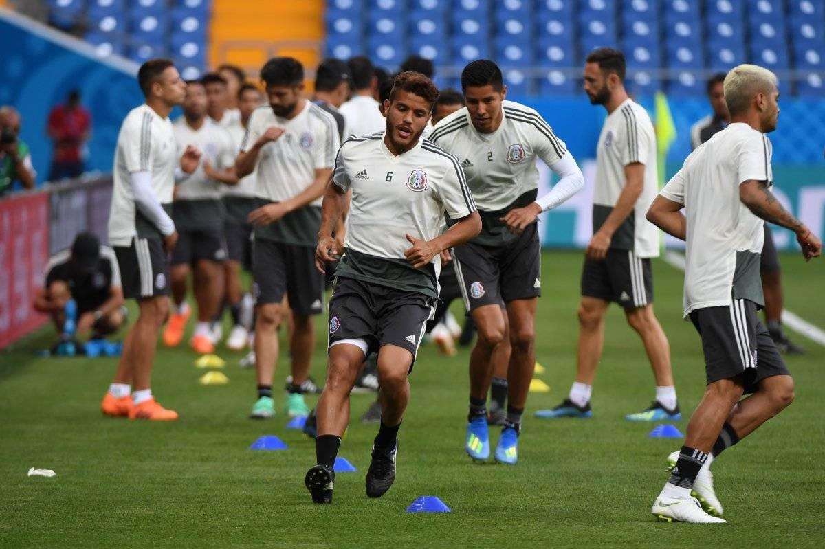 México continúa su preparación de cara al juego ante Suecia