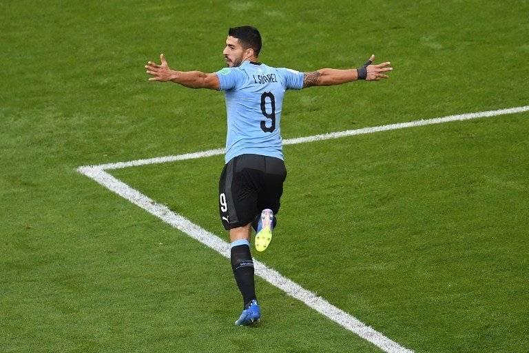 Suárez consiguió su segunda anotación de la Copa del Mundo
