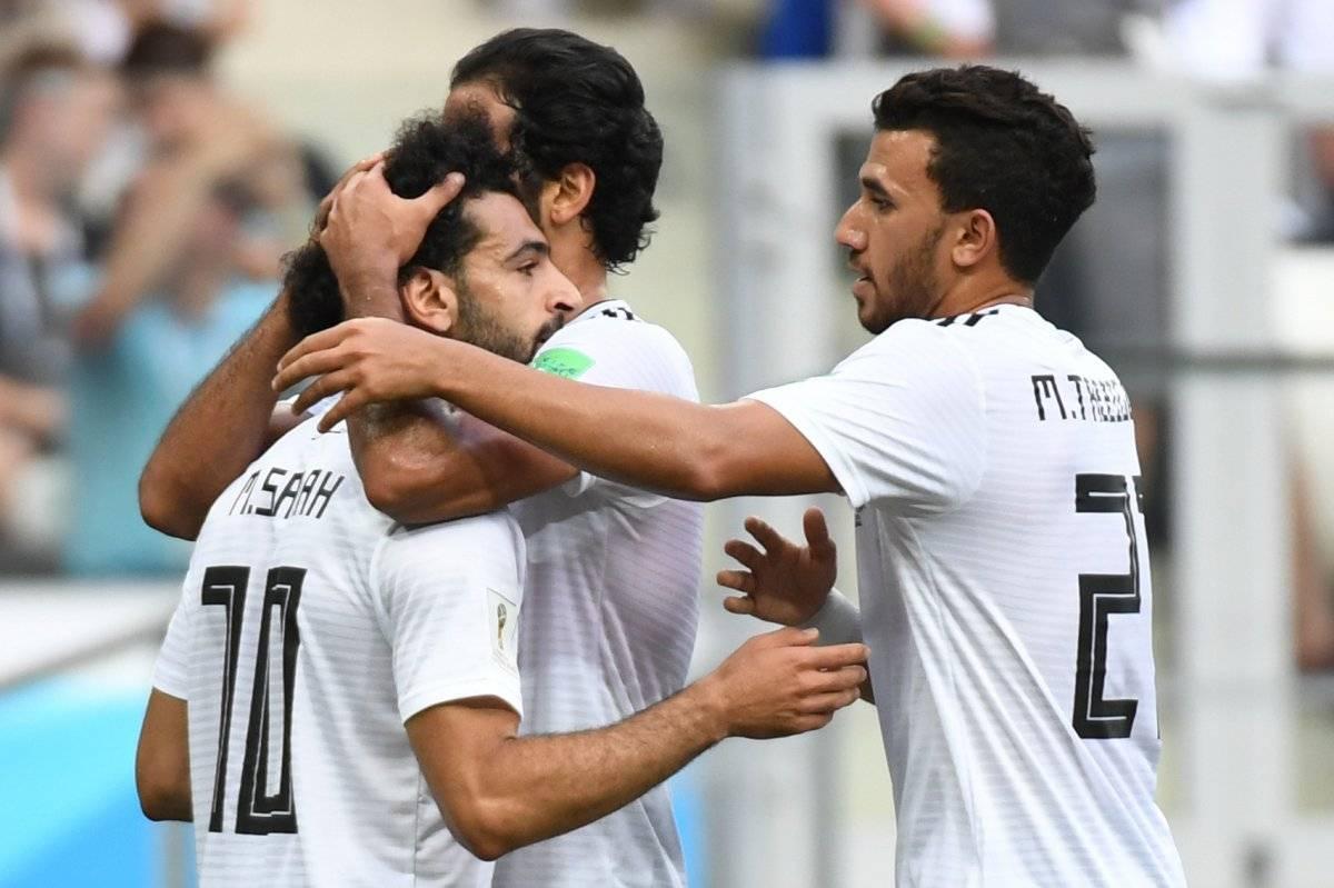 Salah puso en ventaja a los egipcios.