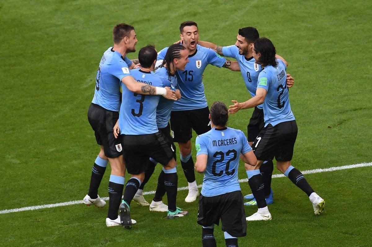 Uruguay venció a la anfitriona Rusia