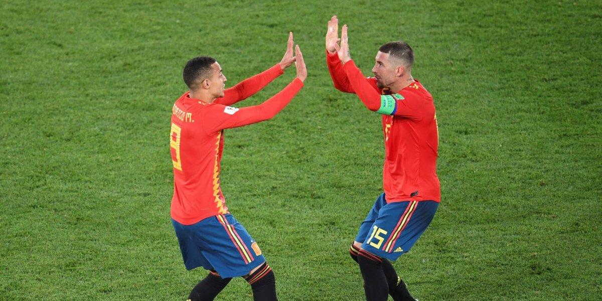El VAR e Irán hacen que España termine en el primer puesto del grupo B