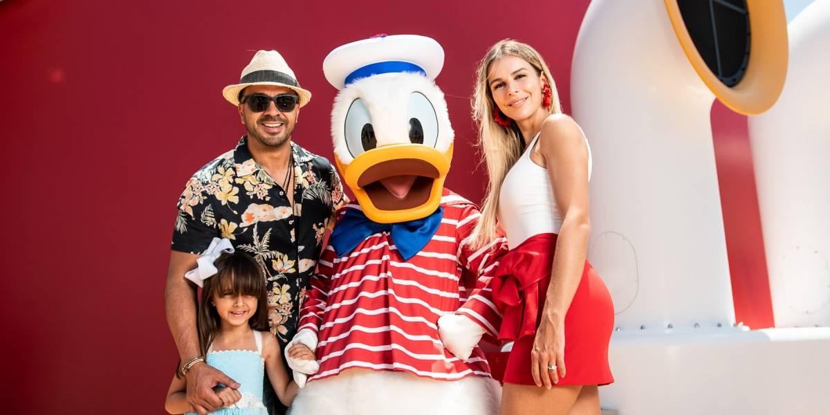 Luis Fonsi se va de crucero con su familia
